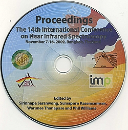 CD-Proceedings of the 14th International Conference on Near Infrared Spectroscopy