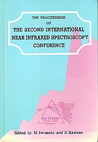 Near Infrared Spectroscopy Proceedings of the 2nd International Conference