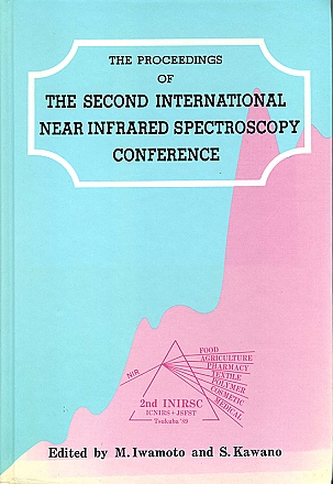 The Proceedings of The Second International Near Infrared Spectroscopy Conference